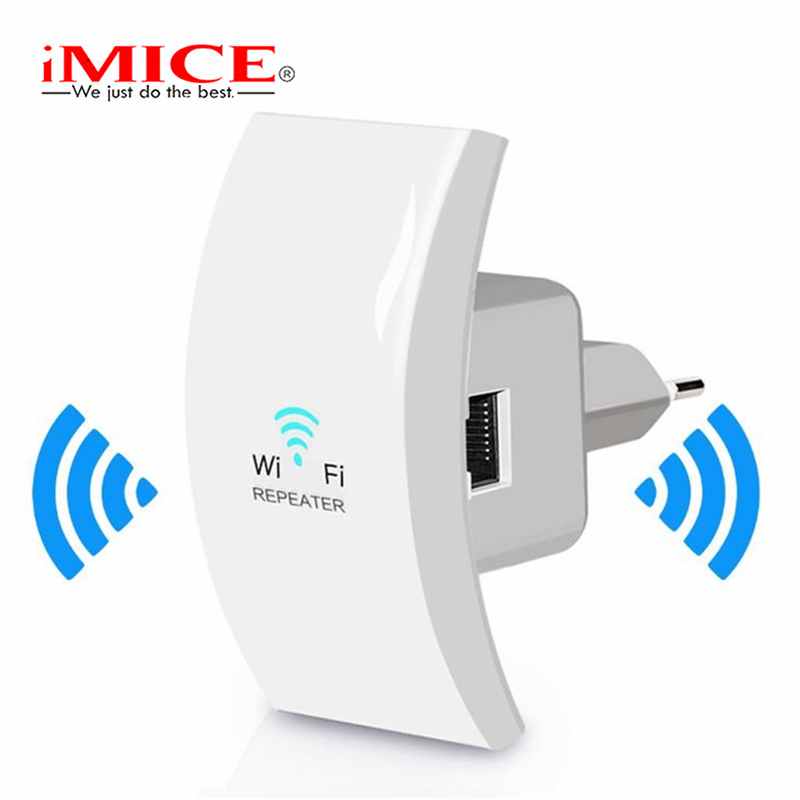 IMice Mini WIFI Repeater Wireless WiFi Extender 802.11n/b/g 300Mbps Signal Booster Mini Wi-Fi Range Extender  Amplifier Repeater