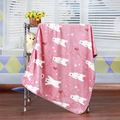 Baby Blankets Newborn Rushed Baby Blanket Swaddle Spring Coral Fleece Flannel Air Conditioning Newborn Bed Sheet Soft 100*72cm