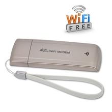 Разблокирована 4 Г/3 Г USB WI-FI Модем LTE FDD B1/B3 Группа 4 Г Wi-Fi Модем-маршрутизатор Беспроводной Сети USB Hotspot ключ с СИМ Слот Для Карт
