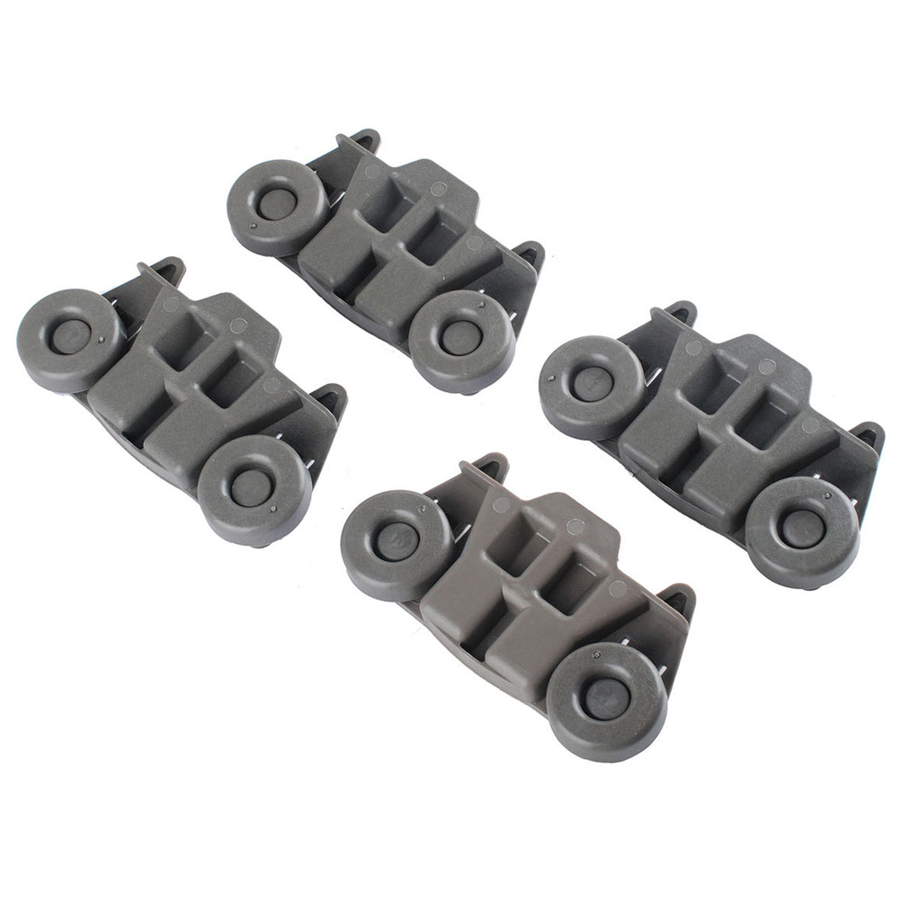 Official Website 4 Pcs/set W10195416 Dishwasher Wheel Assembly Ap5983730 W10195416v Ps11722152 Hy99 Oc19 Attractive Appearance Home Appliance Parts