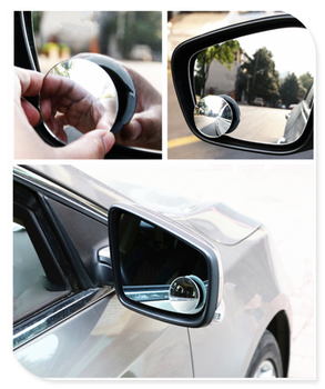 Car borderless small round blind spot mirror reversing aid for BMW i8 Z4 X5 X4 X2 X3 M5 M2 X6 M6 640i 640d image