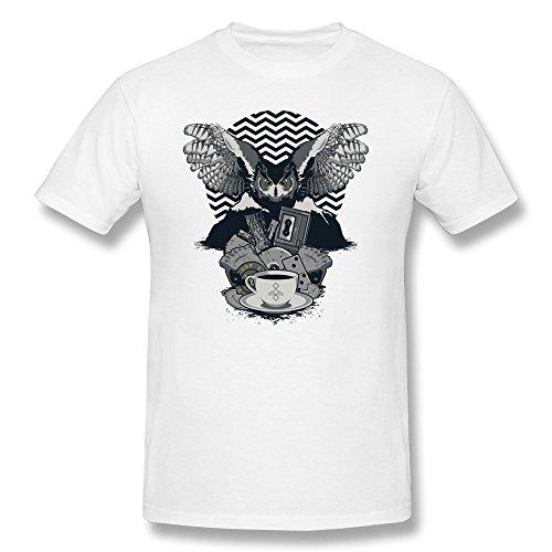 T Shirt Online Store Sept MenS Twin Peaks Tv Art MenS Design O-Neck Short-Sleeve T Shirts