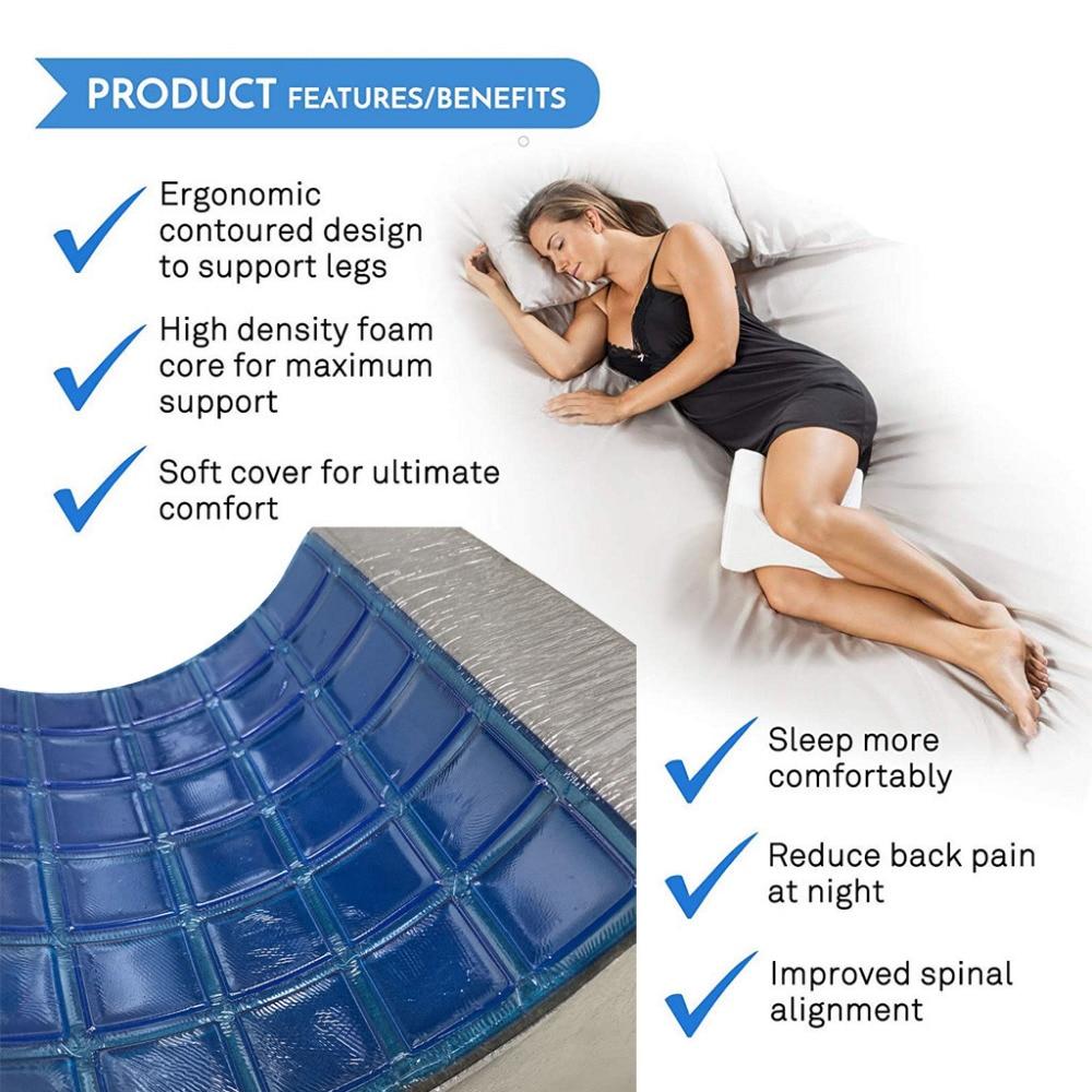 knee pillow leg pillow for sleeping