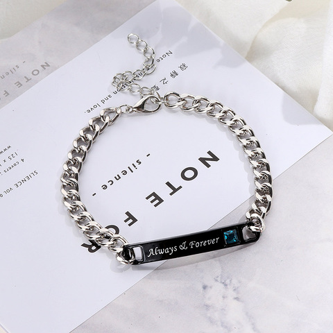 1PC/1Pair Trendy Lovely Couple Bracelets Men&Women Her King His Queen Romantic Crystal Crown Fashion Accessories Hand Jewelry Lahore