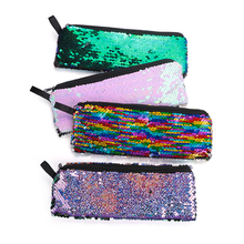 Fashion Mermaid Sequins Coin Purse Women Girls Student Mini Wallet Stationery Bag Pouch Kids Coin Bag Zero Money Pouch New-in Coin Purses from Luggage & Bags on AliExpress