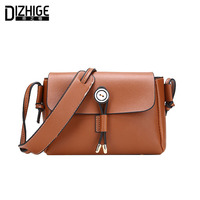 DIZHIGE Brand Small Flap Women Messenger Bags Fashion Crossbody Bags Women High Quality PU Leather Shoulder