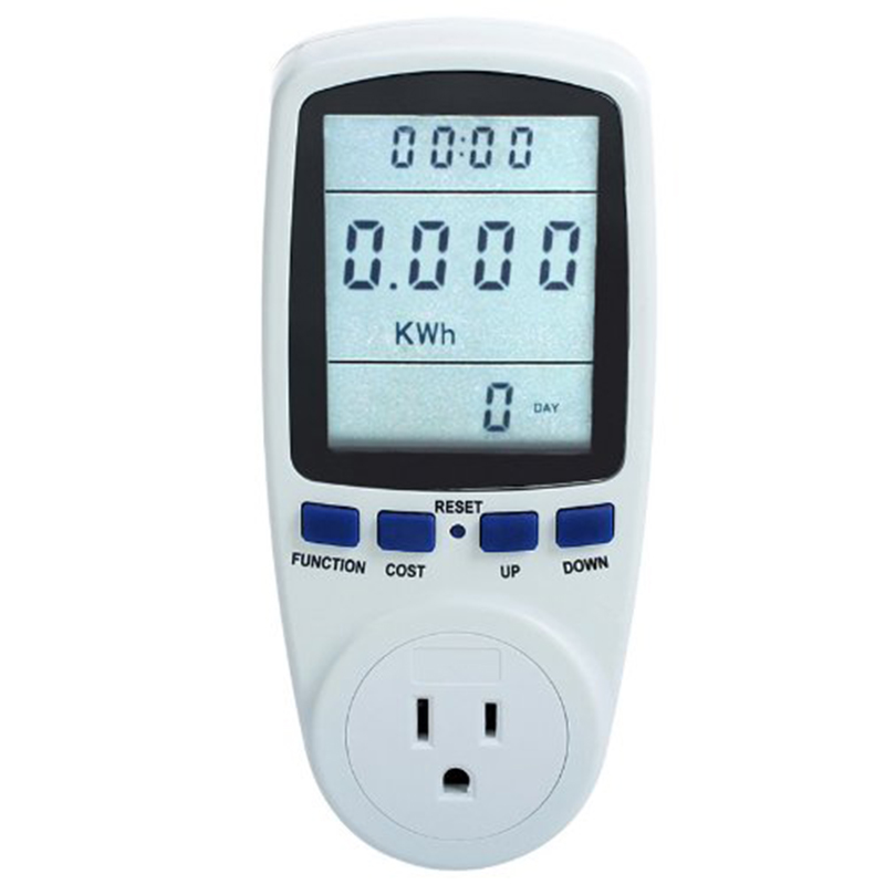 smart home UAS Plug New 110V Digital Home Analyzer Power Energy Meter Monitor America Socket Energy Meter ...
