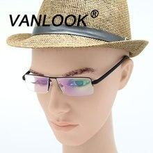Мужские очки для чтения, для зрения, компьютерные очки Gafas Lectura, ретро оптическая металлическая оправа для очков+ 1,0 1,5 2,0 2,5 3,0 3,5 4,0