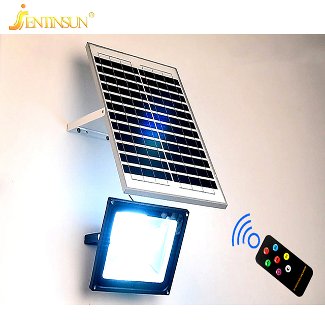 New solar panel light 50w 30w 20w remote control sensor led solar new solar panel light 50w 30w 20w remote control sensor led solar power lamp waterproof outdoor mozeypictures Gallery