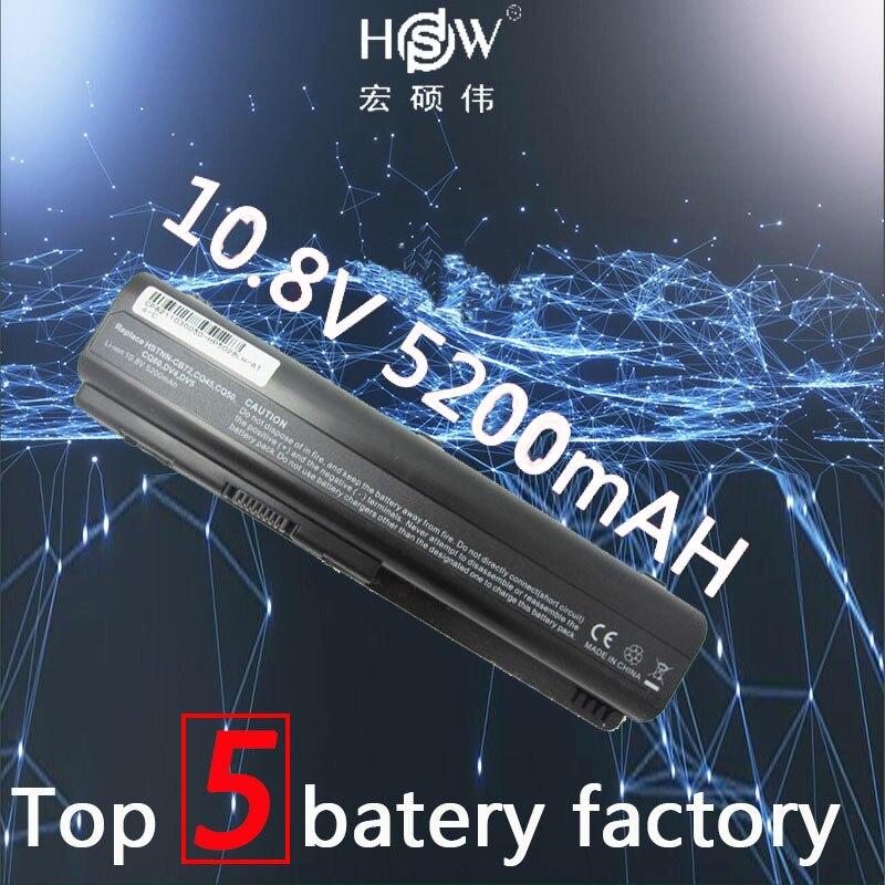 HSW Battery for Compaq Presario CQ50 CQ71 CQ70 CQ61 CQ60 CQ45 CQ41 CQ40 For HP Pavilion DV4 DV5 DV6 DV6T G50 G61 batteria akku for hp cq40 cq41 cq45 dv4 for amd discrete graphics dedicated laptop fan