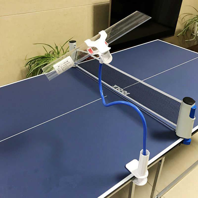 1pc Professional Training Tischtennis Schnelle Roboter Trainer Erholung F/ür Streicheln Pong Tischtennis Ballmaschine