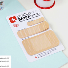 10 pcs/lot Cute Band-aid Memo Pad Sticky Note Kawaii Paper Sticker Creative Gift Novelty Items School Office Stationery Supply