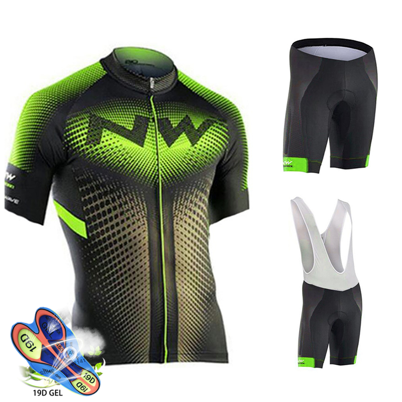 Northwave Cycling Clothing Men Triathlon Clothing Short Sleeve Breathable Summer Cycling Set Ropa Ciclismo Hombre Cycling