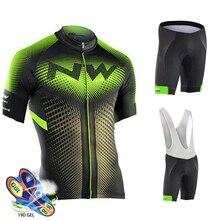 Northwave одежда для велоспорта Мужская одежда для триатлона с коротким рукавом дышащий летний комплект для велоспорта Ropa Ciclismo Hombre комплект для велоспорта
