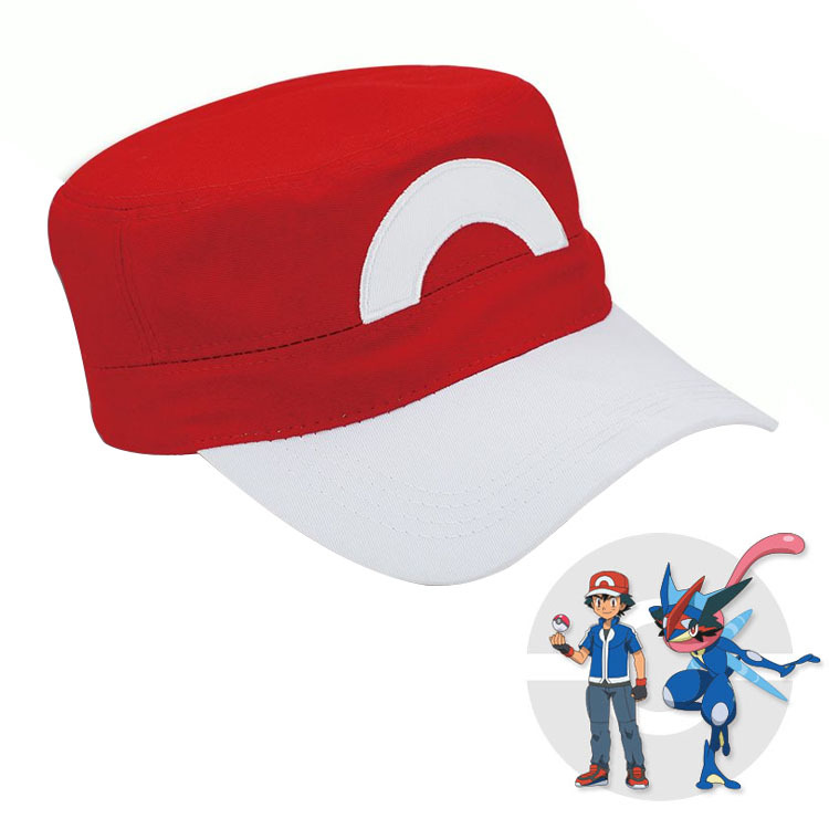 Pokemon Go Pocket Monster Baseball Cap Ash Ketchum Cosplay Tranier Pokemon Hat Adjustable  Snapback Cotton Cap Hats mymei 2016 unisex anime cosplay pokemon monster ash ketchum baseball trainer cap hat