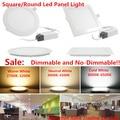 25 Watt Square/Round LED Ceiling Light Recessed Kitchen Bathroom Lamp 85-265V LED Down light Warm White/Cool White Free shipping