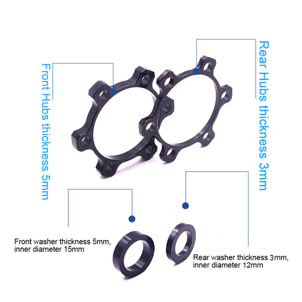 Details about  /1Set Alloy Bike Hub Adapter Bicycle Boost Spacing Boost Fork Conversion Ki TH