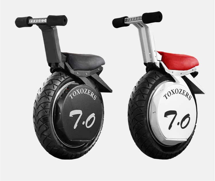 Daibot Adult Electric Scooter One Wheel Self Balancing Scooters Big Wide Tire 60V 2000W Powerful Motor Electric One Unicycle