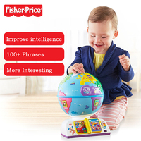 Fisher Price New Baby Learning Toy Played A Globe Bilingual DWN38 Early Childhood Educational Toys For Kid Christmas Gift