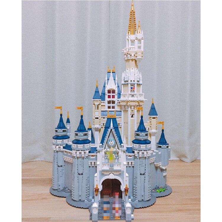 16008 Cinderella Princess Castle City Set Model Building Block Kid DIY Toy Funny Birthday Compatible 71040