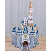 16008 Золушка Принцесса замок город Набор Модель Строительный блок ребенок DIY игрушка смешной день рождения совместимый 71040