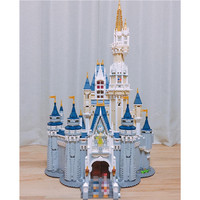16008 Cinderella Princess Castle City set Model Building Block Kid DIY Toy Funny Birthday Compatible 71040
