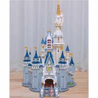 16008 Cinderella Prinzessin Burg Stadt set Modell Gebäude Block Kind DIY Spielzeug Lustige Geburtstag Kompatibel 71040