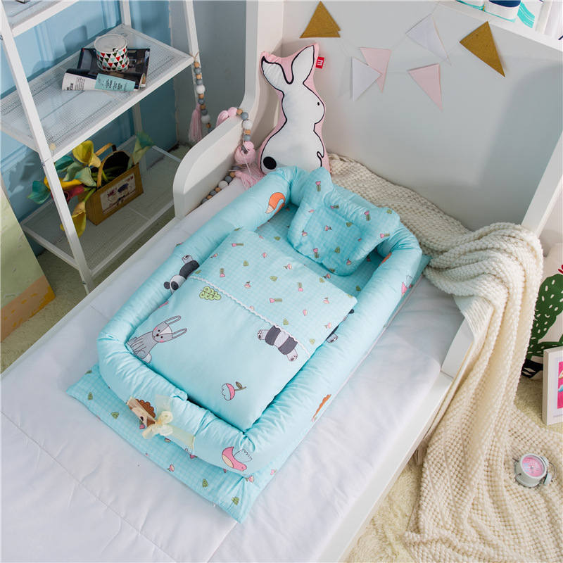 Portable Baby CO Sleeping Crib Bed Kids Infant Crib Bassinet Basket Baby Travel Bumper Baby Crib Outdoor Baby Bed Детская кроватка