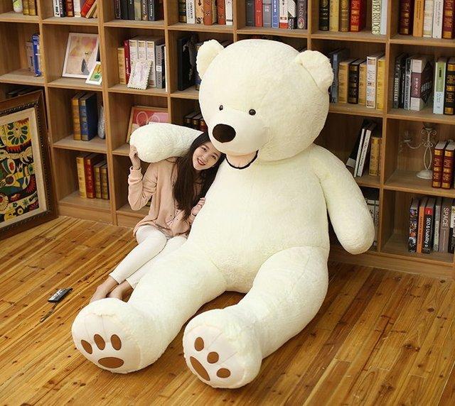 Teddy Bear plush toy Huge American Bear Big Size 102 inch 260CM Teddy Bear skin ,Good Quality Factary Price Soft Toys For Girls