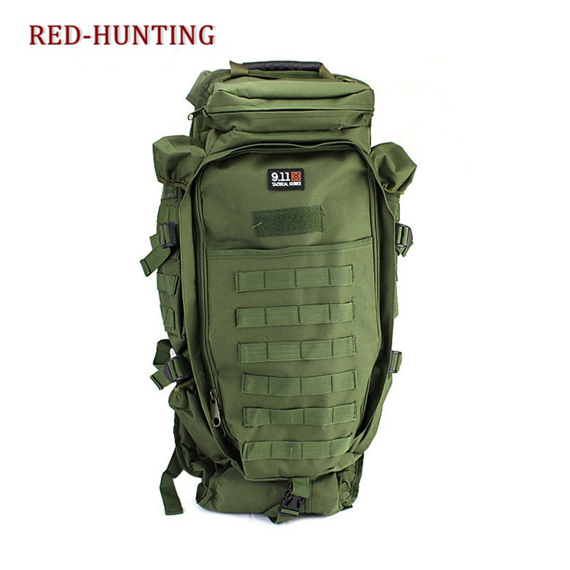 ee2081cb33a4 Free Shipping Men s Military Tactical Pack Outdoor Hunting Backpack Rifle  Carry Tactical Bag Gun Protection Case Backpacks-in Climbing Bags from  Sports ...