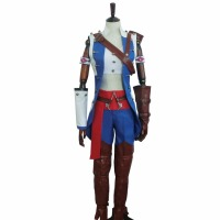 2017 kobiet Kostium Gry Assassins Creed Assassins Creed III Connor Kenway Cosplay Costume