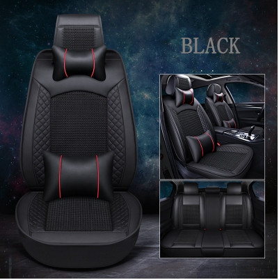 Top quality! Full set car seat covers for Nissan X-trail T32 5 seats 2019-2014 breathable fashion seat covers for Xtrail 2018