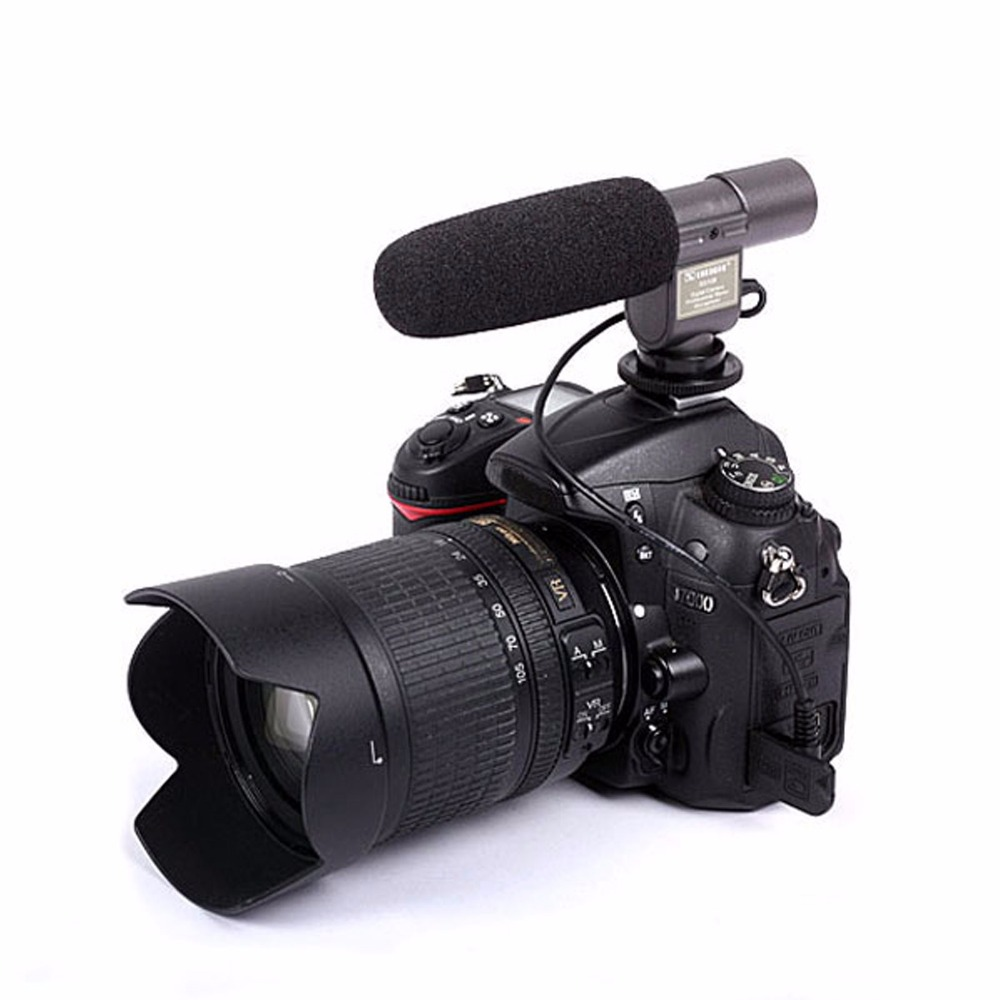 DSLRKIT SG-108 Stereo Shotgun Microphone for CANON NIKON PENTAX OLYMPUS PANASONIC D-SLR
