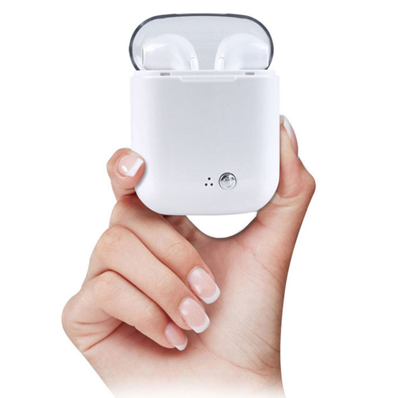 I7S TWS Auricolari Ture Senza Fili di Bluetooth Doppio Auricolari Auricolari Stereo Musica Air Auricolare baccelli Per Apple iPhone X 8 Huawei