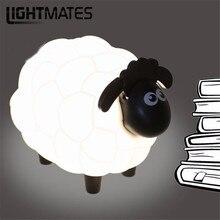 Cartoon Sheep Led Night Light Children Bedroom Desk Lamp Protect Eye Lamp Best Gifts For Children Cute Children kids Gifts