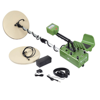 MD 88 Deep Ground Metal Detector Gold Detector Pressure Stone Diamond Detector With Two Coils