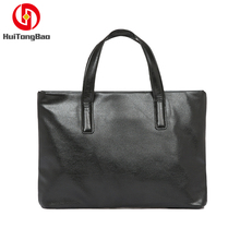 Business Portable Mens Handbags Cross-section Briefcase Computer Bag Package File Purses and