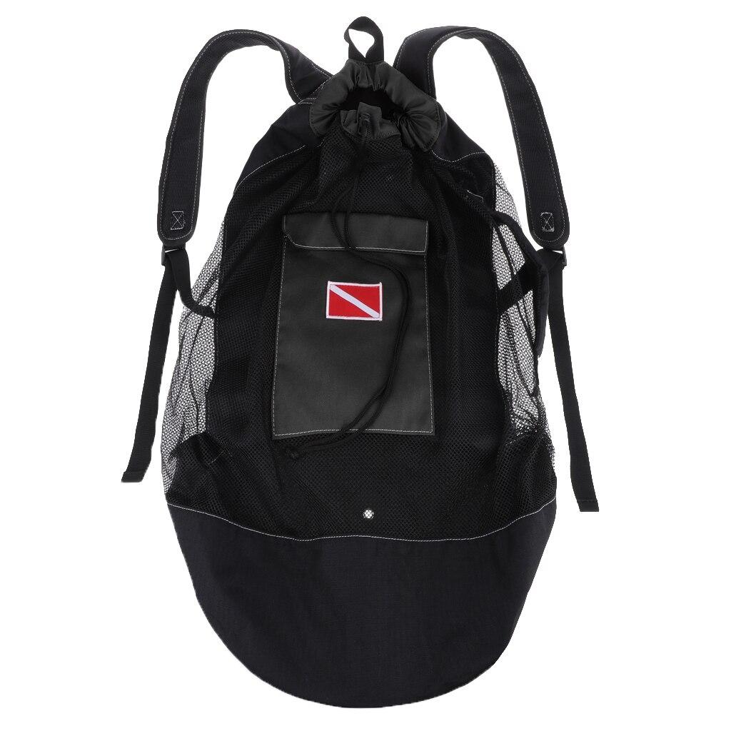Mergulho mergulho snorkeling malha mochila equipamento de