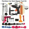 PDR Tools Car Repair Tool Set Dent Removal Slide Hammer Puller Lifter Kit Paintless Dent Repair