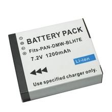 7.2V 1200mAh DMW BLH7 BLH7 DMW BLH7PP DMW BLH7E Batterie Pour Appareil Photo Panasonic Lumix DMC GM1 GM1 DMC GM5 GM5 DMC GF7 GF7 En Gros