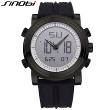 SINOBI Brand LED Digital Mens Military Watch Men Sports Watches 3ATM Swim Climbing Fashion Outdoor Casual
