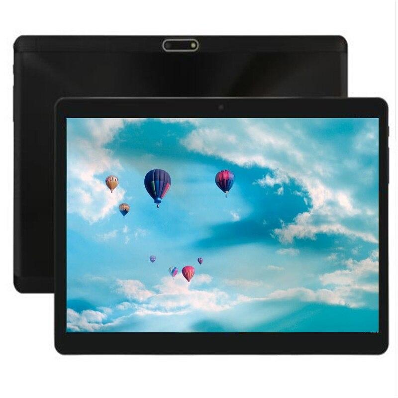 Tablette PC en verre trempé 10 pouces 4 GB RAM 128 GB ROM 1280x800 Android 8.0 3G 4G LTE téléphone enfants tablettes 10.1 Octa Core pad