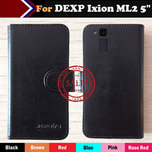 Factory Price Case For DEXP Ixion ML2 5 inch Fashion Dedicated Side Slip Leather Protective Phone Cover Card Slots Wallet Bag