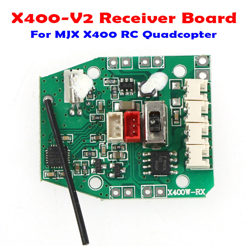 MJX X400 Main Receiver Board RC Quadcopter Drones Aircraft Spare Parts Accessories Hot Sale Best Price h22 007 receiver board spare part for h22 rc quadcopter