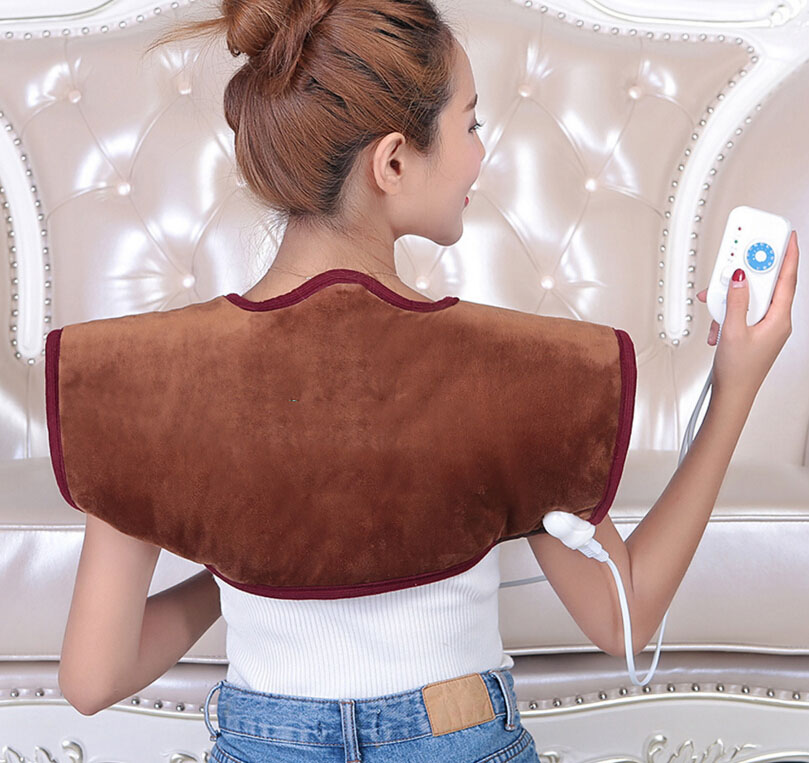 Intelligent temperature control electric heating sea salt salt hot compress in shoulder neck shoulder week cervical discomfort цена