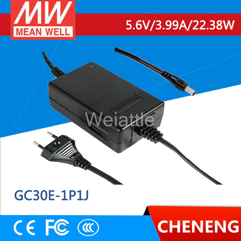 MEAN WELL original GC30E-1P1J 5.6V 3.99A meanwell GC30E 5.6V 22.38W Power Adaptor with Charging FunctionMEAN WELL original GC30E-1P1J 5.6V 3.99A meanwell GC30E 5.6V 22.38W Power Adaptor with Charging Function