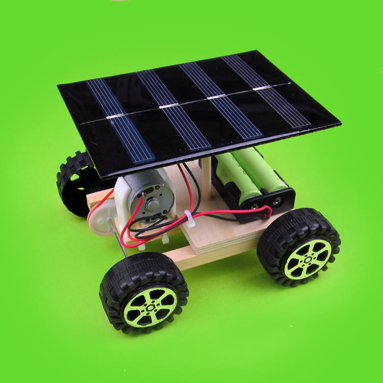 DIY manual assembly materials Solar power drive vehicle technology ...