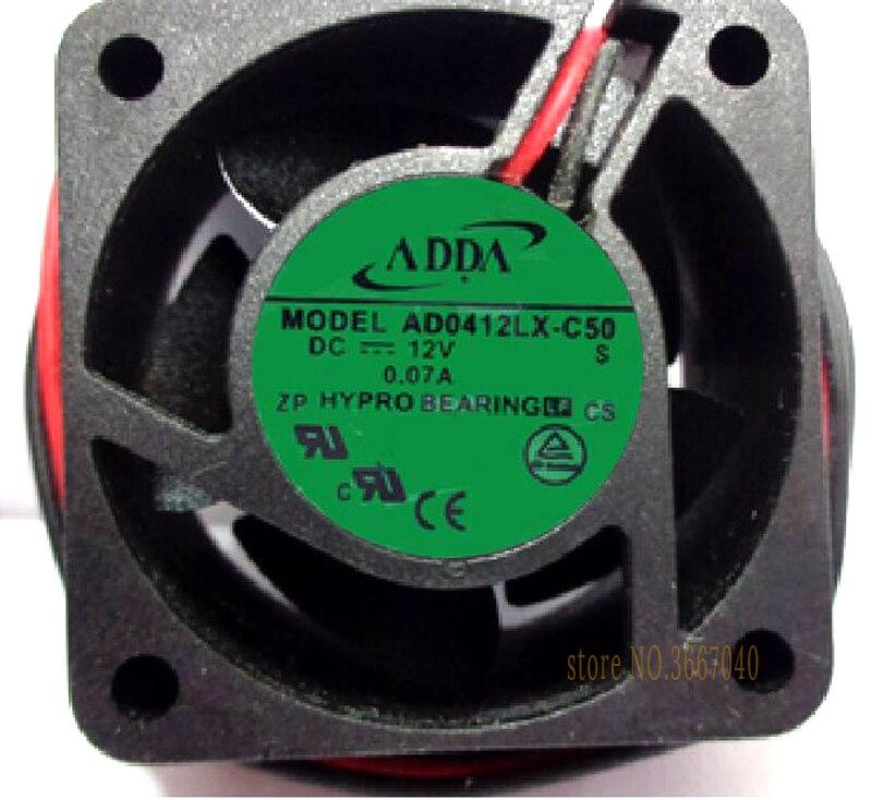 ADDA AD0412LX-C50 40*40*20mm 4cm 4020 DC 12V 0.07A Server Inverter cooling Fan