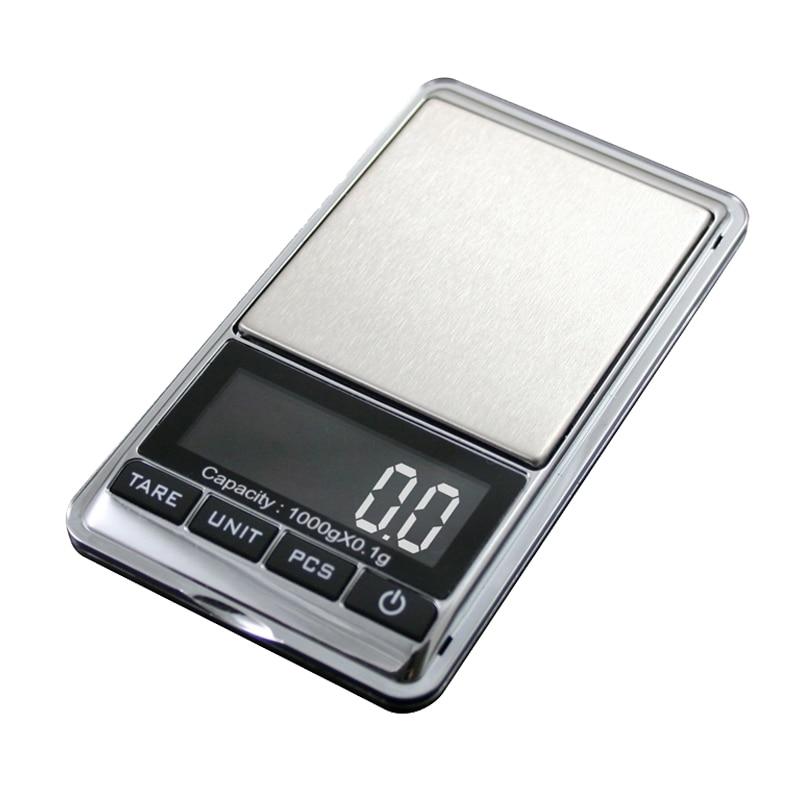 Mini Digital Pocket Scale,1000g By 0.01g Digital Grams Scale,Food Scale,Jewelry