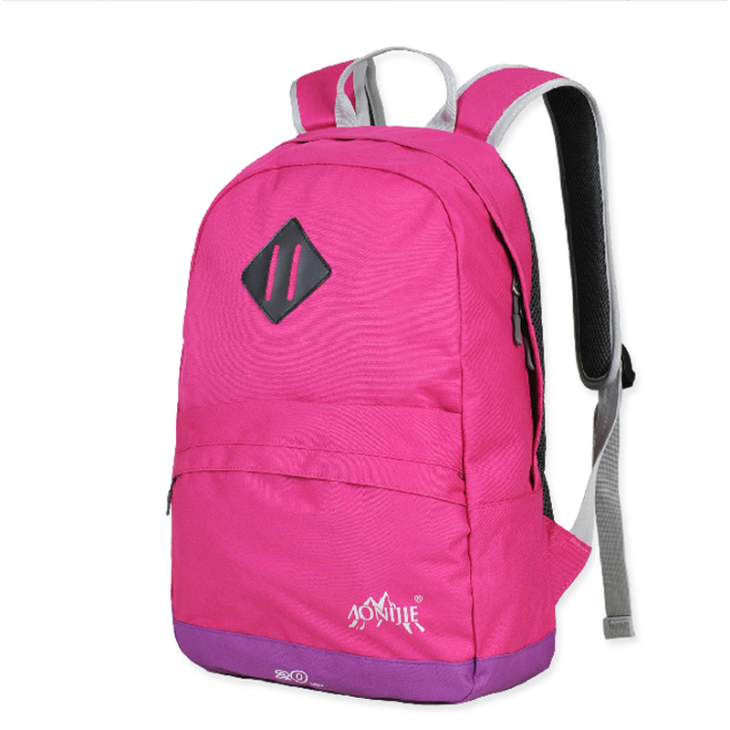 AONIJIE Men Women Outdoor Sports Backpack Nylon Hiking Camping  Mountaineering Gym Fitness Travel Bag 95fb5c90d5a04